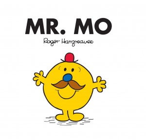 New Mr Man is a Mo Bro! The Mr Men support Movember