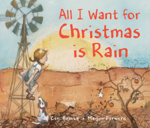 Christmas Picture Book All I Want For Christmas Is Rain Cover Image