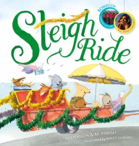 Sleigh Ride Festive Picture Book Cover Image