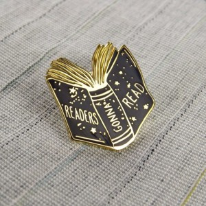 Enamel Pin Saying Readers Gonna Read Teacher Gifts